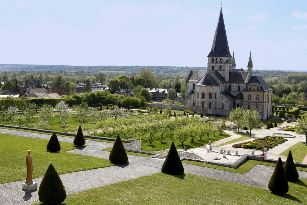 abbaye saint georges de boscherville jardin potager en normandie. Black Bedroom Furniture Sets. Home Design Ideas